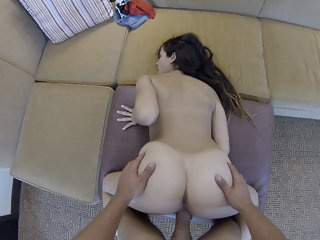 Tony & Caroline Ray in Big Cock For Pretty Coed - SpyPOV
