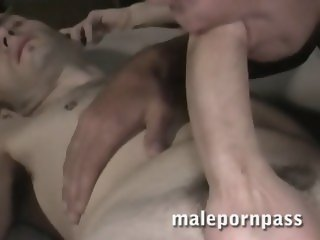 Hot Twink Barebacking Cum