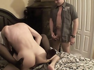 Wife Gets Fucked While He Watches