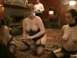 Group sex porn video featuring Lilla Katt, Iona Grace and Nerine Mechanique