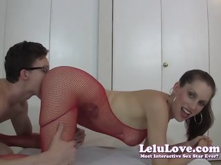 Lovely Lelu Love was hard fucked