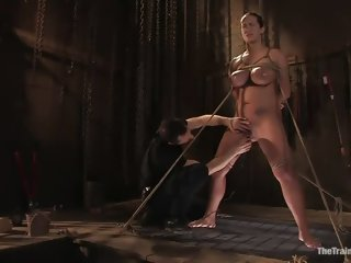 Godly Trina Michaels is fucking in BDSM porn