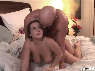 Racy dusky Natasha Nice featuring hot face-fucking video