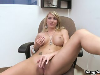 Supreme yellow-haired Missy Woods having an amazing hard core sex