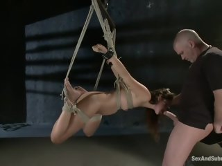 Godly Allie Haze in amazing BDSM XXX movie