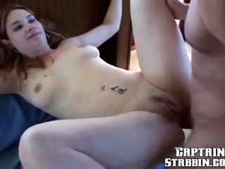 Piercing sex video featuring Brett, Captain and Heidi