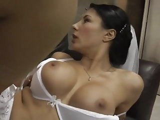 Busty British Bridal Fuck by Oldman