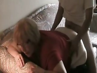 Plump 56 Year Old Gilf Fucks BBC