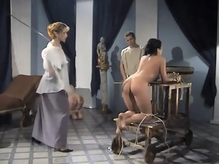 Amazing amateur Spanking, European adult scene