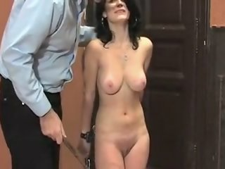 Crazy Amateur video with Brunette, BDSM scenes