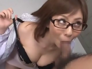 Hottest Japanese model Yuma Asami in Incredible Blowjob/Fera, Facial JAV scene