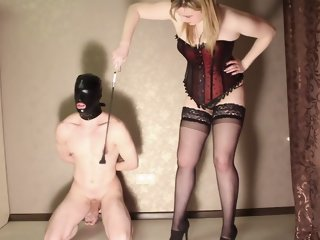 Slave footfetished  busted  spanked