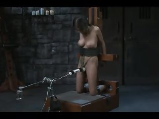 April o'neil has an vibrator bdsm orgasm