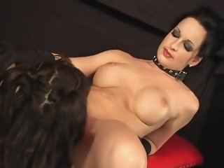 Amazing pornstars Jamie James and Cute Angie in best small tits, lesbian xxx clip