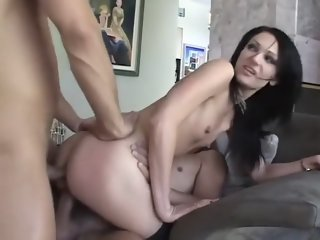Best pornstars Alexis Monroe and Victoria Sin in amazing dildos/toys, blowjob adult video