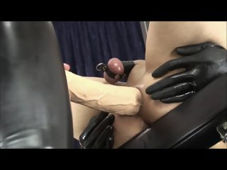 Anal Fist and Huge Strapon