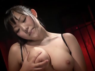 Amazing Japanese girl Kanon Minami in Hottest stockings, masturbation JAV movie