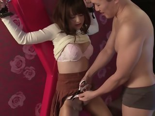 Akiho Yoshizawa in Fucking Machine SEX part 1