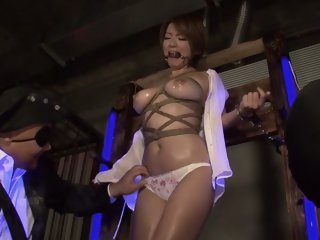 Best Japanese chick Meguru Kosaka in Amazing fetish, bdsm JAV scene