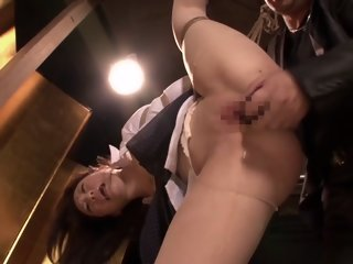 Sakura Oba in Slave Secretary of President part 1.1