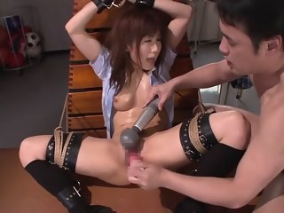 Crazy Japanese girl Minami Kojima in Exotic bdsm, masturbation JAV scene