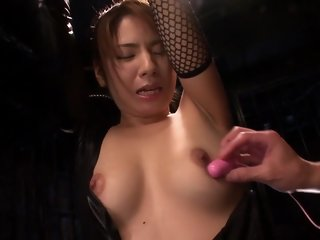 Exotic Japanese model Sakura Nanami in Hottest bdsm, fishnet JAV video