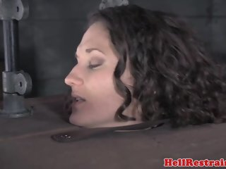 Punished sub restrained by maledom