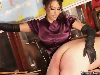 OTK Session with femdom Mistress Tangent