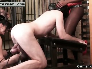 Boobies Carmen fisting bdsm hard core part5