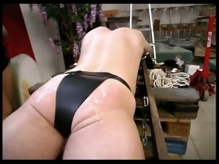 Nasty slave gets punished and spanked