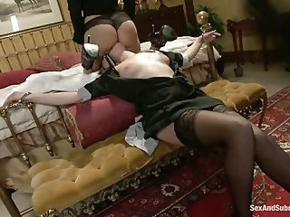 Maid To Suffer: Punished and Fucked by her Employers!