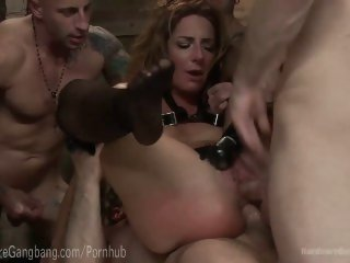 Squirting Fantasy Auction Gangbang