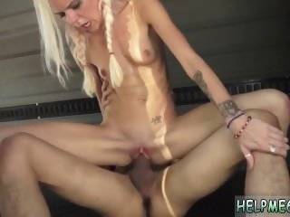 Brutal dildo anal riding Halle Von is in