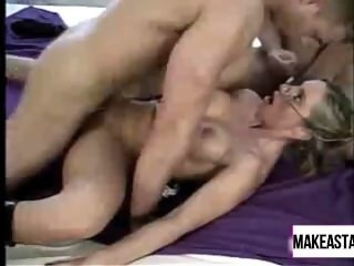 Bisexual guys and busty blonde! - MakeAStarEP_com