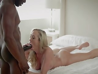 Blonde woman fucked