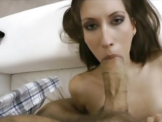 Extremely Slim Russian girl destroyed by Huge Cock