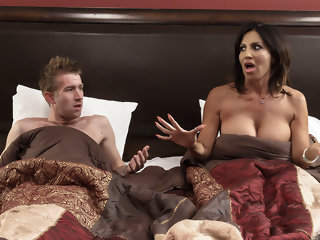 Tara Holiday & Danny D in Overnight With Stepmom: Part One - Brazzers