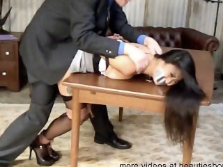girl tied up tape gagged and fucked